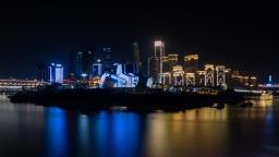 Grandtheater chongqing china cityscape nightphotos night reflection yangtzeriver