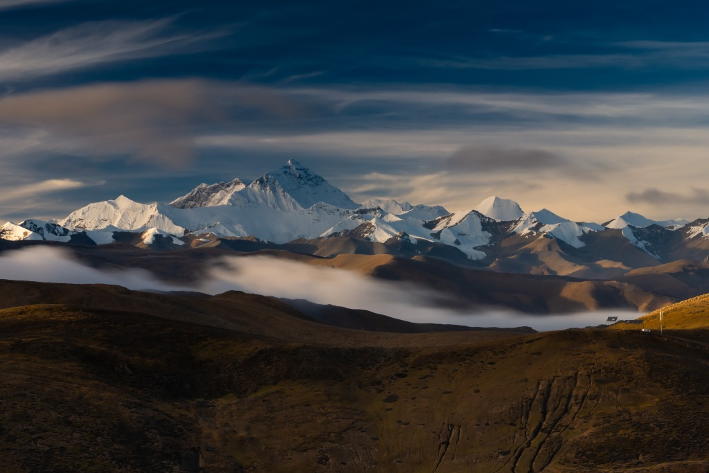 himalayas everest basecamp longexposure tibet china everestbasecamp